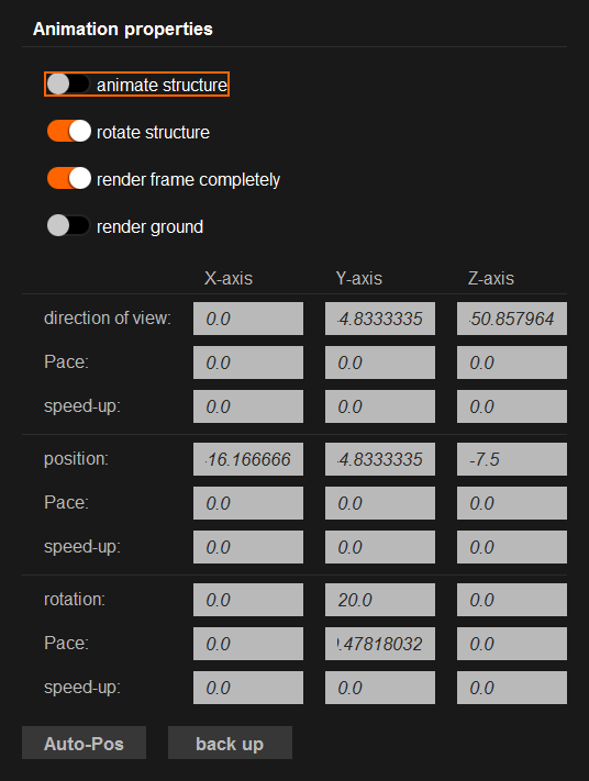 Structure Animator (StrAnimator)